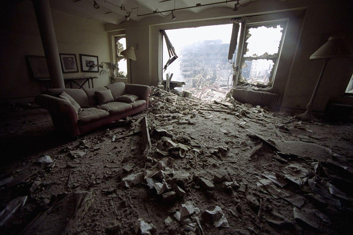 Apartamento en ruinas