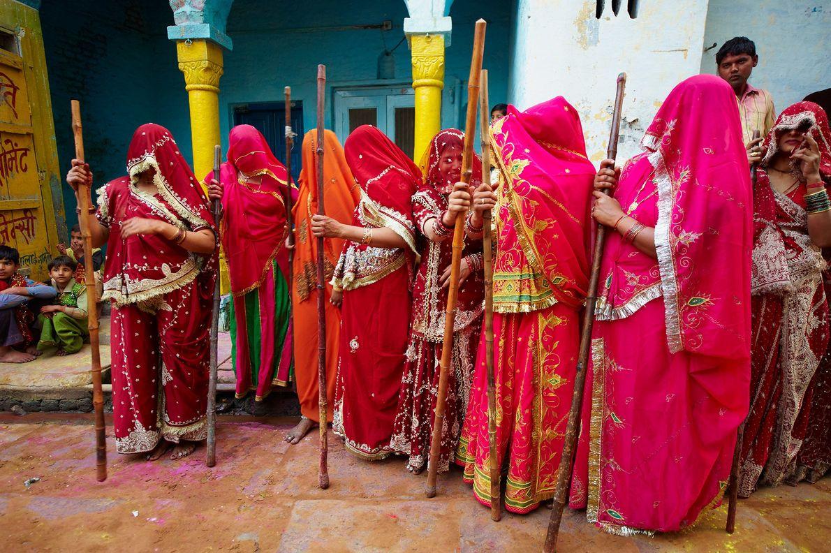 Festival Holi en Uttar Pradesh