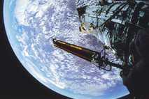 ¿Dónde está el satélite de la NASA?