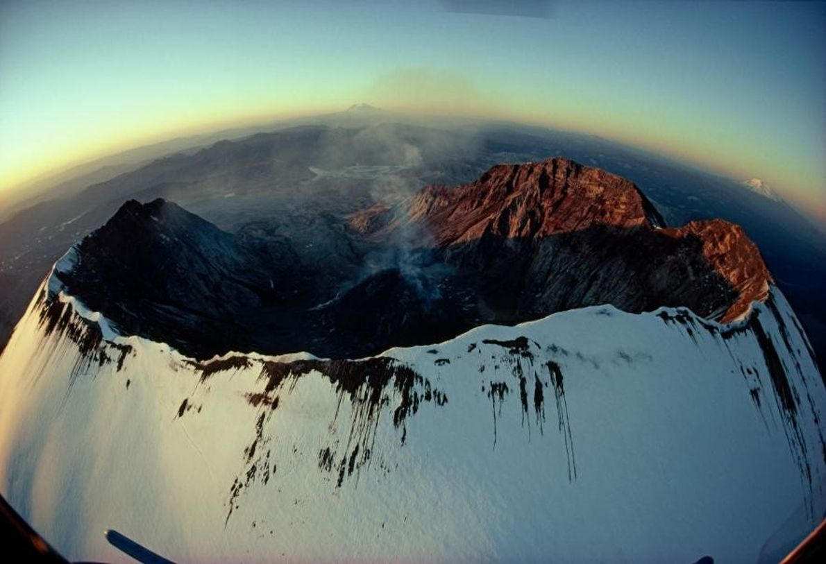 Monte Santa Helena en Washington