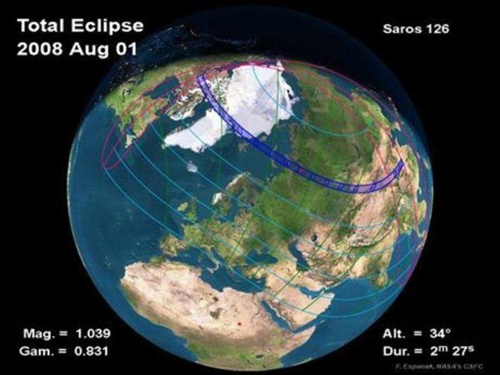 Eclipse solar total el 1 de agosto: dónde y cómo verlo
