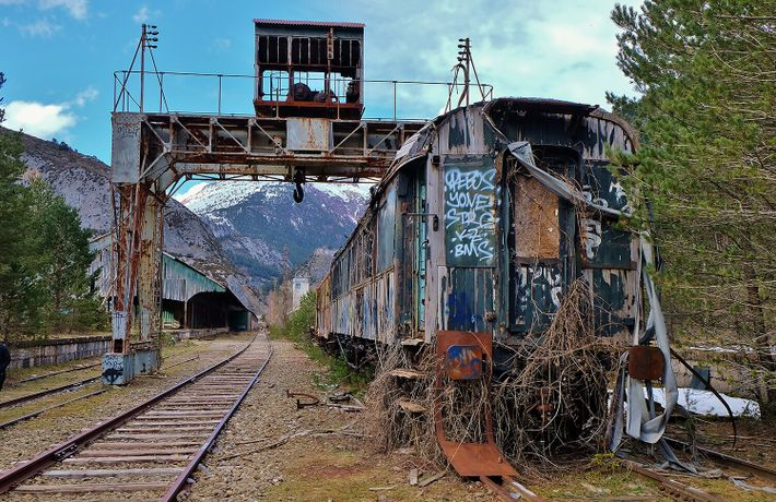 El llamado tren de la libertad recorrió estas vías durante años, alejando del Holocausto hasta 15.000 ...