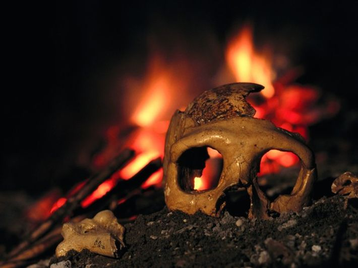 Neandertales murieron por los volcanes