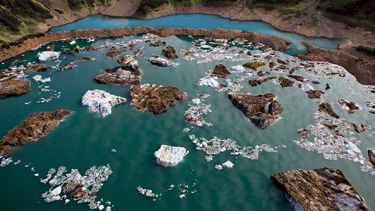 Paisajes del Ártico desde el aire