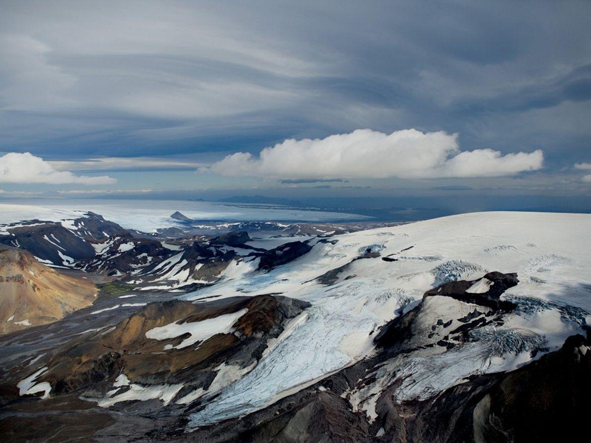Glaciar Thórisjökull, Islandia