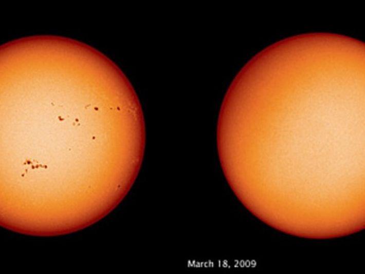 El Sol inusualmente tranquilo - ¿Estamos ante una nueva edad de hielo?