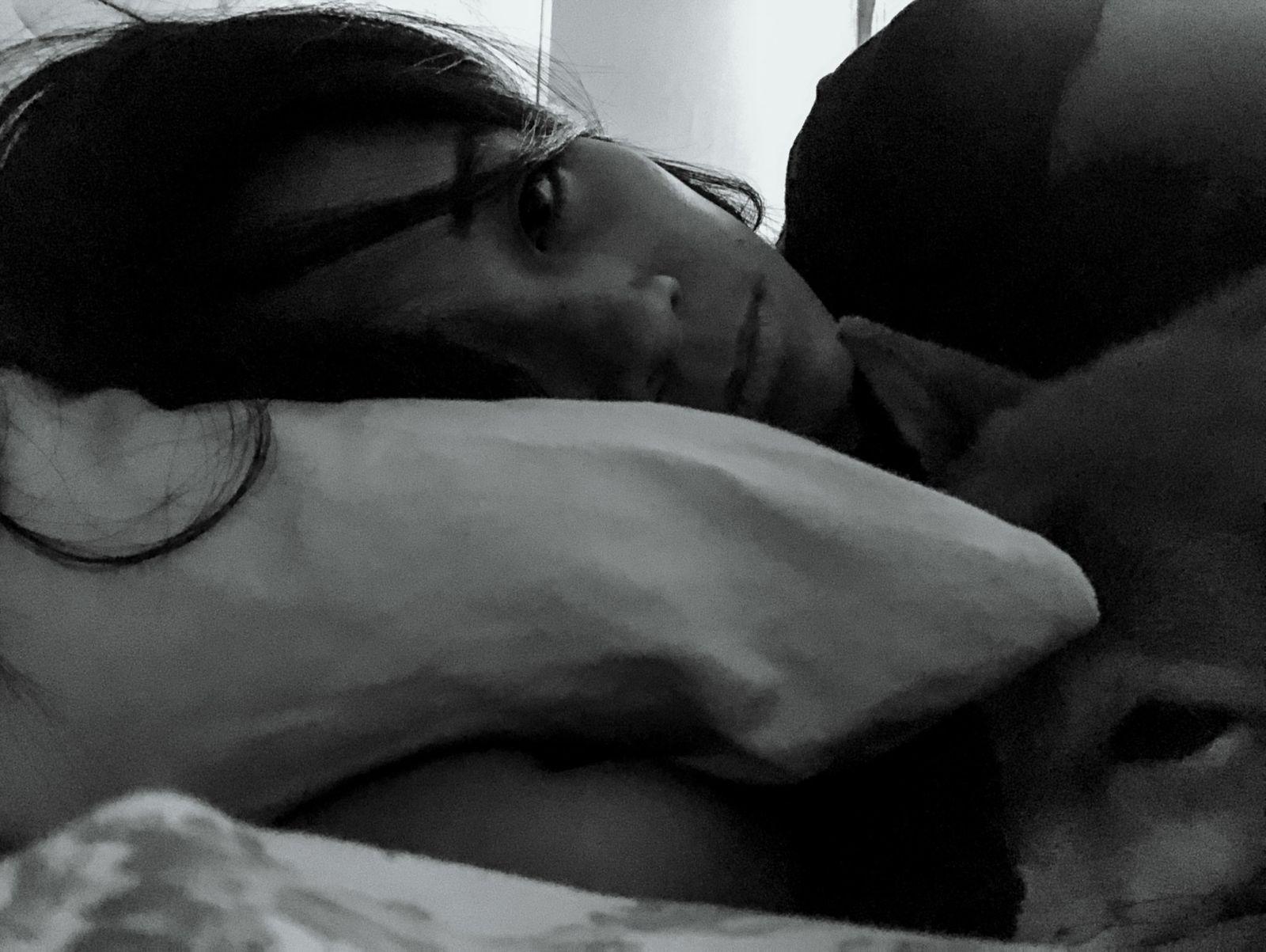 Morton en la cama