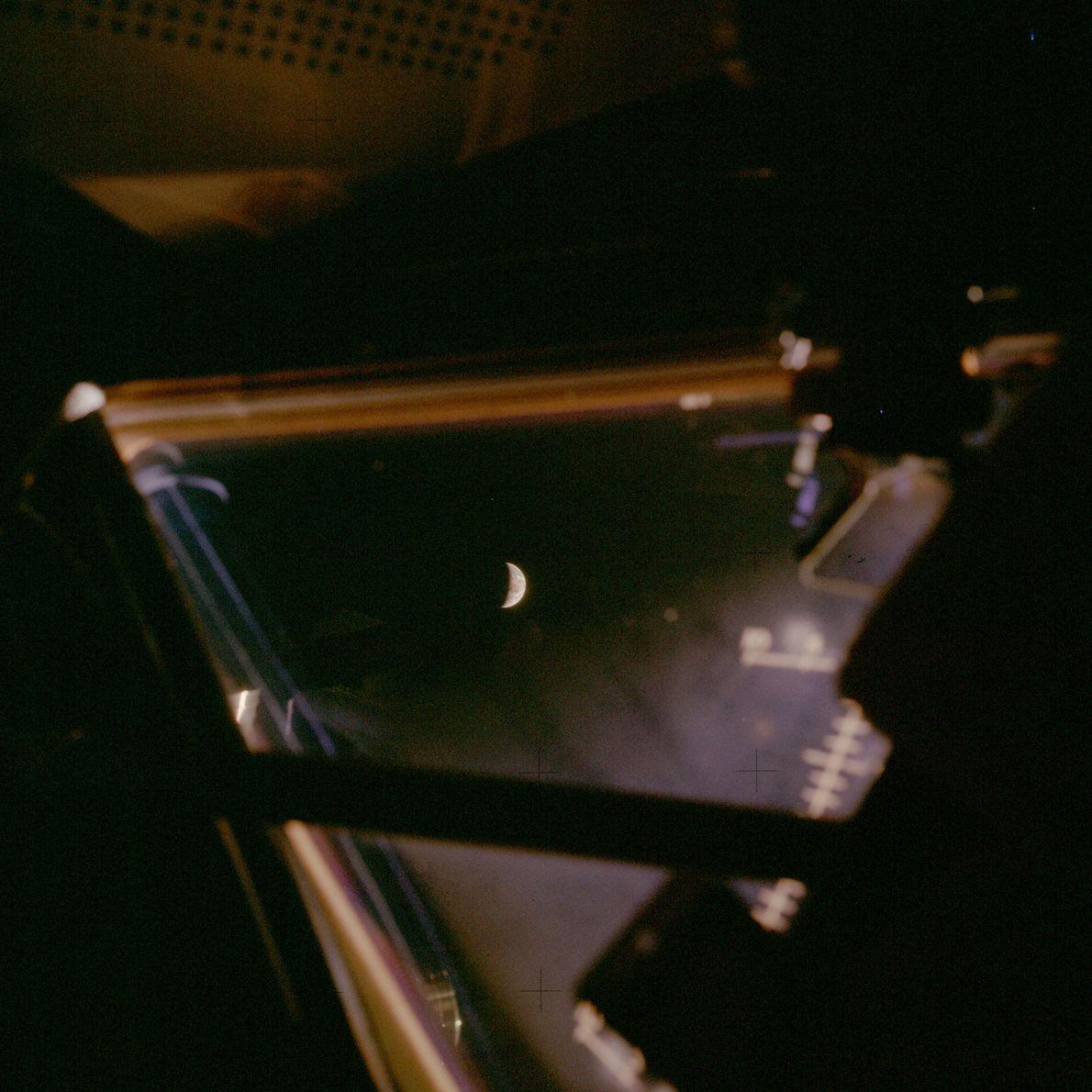 La Tierra vista desde la Apolo 13.