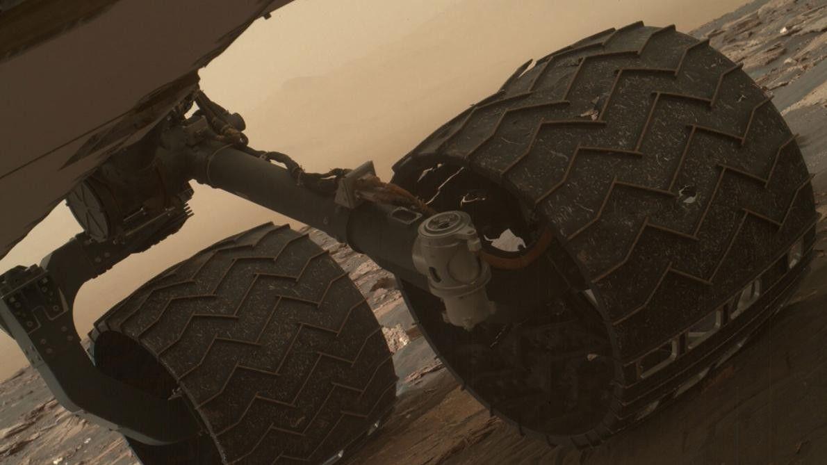 Neumáticos del Curiosity