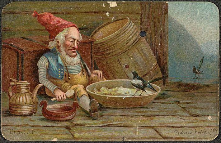 Ilustración de un nisse