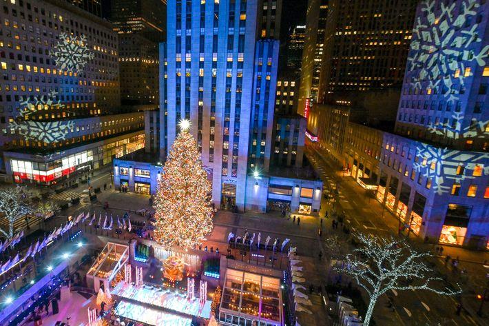 El árbol de Navidad del Centro Rockefeller