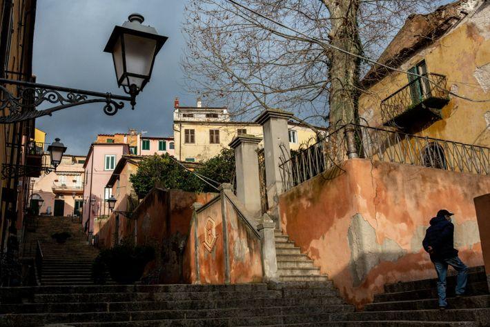 Centro histórico de Rio Marina, en la isla de Elba