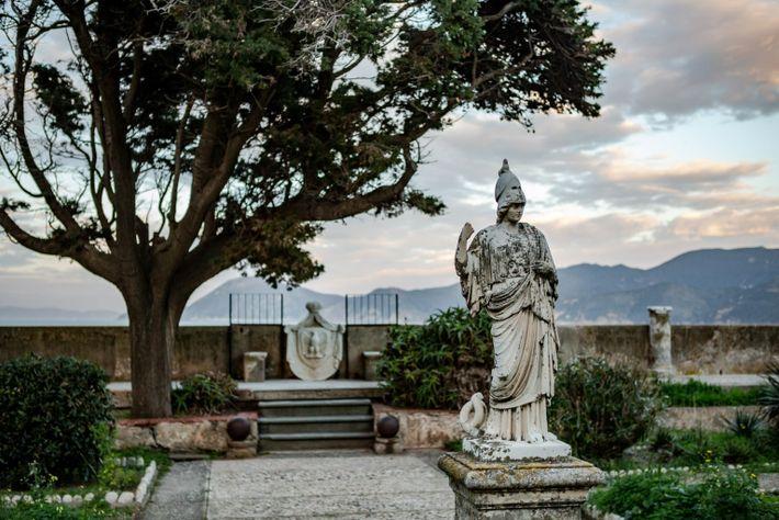 El jardín de Villa dei Mulini