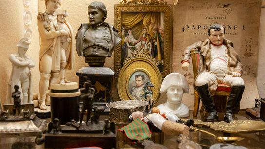 Fotografía de objetos vinculados a Napoleón Bonaparte