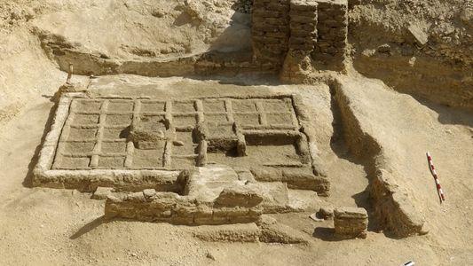 Arqueólogos del CSIC descubren los primeros restos de un jardín funerario en Egipto