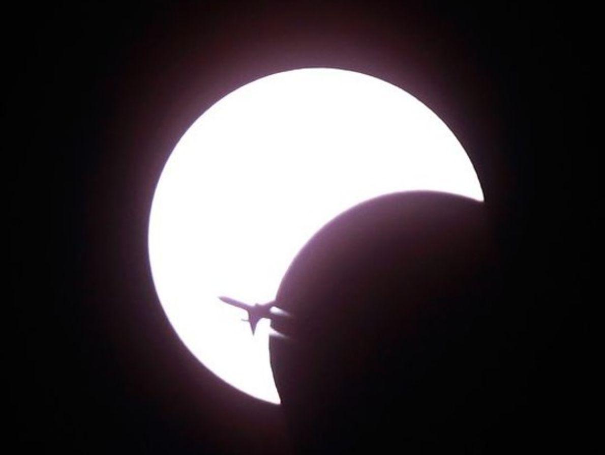 Eclipse anular sobre Bangkok