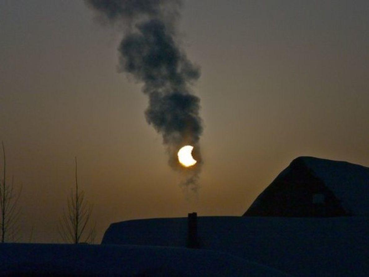 Eclipse ahumado