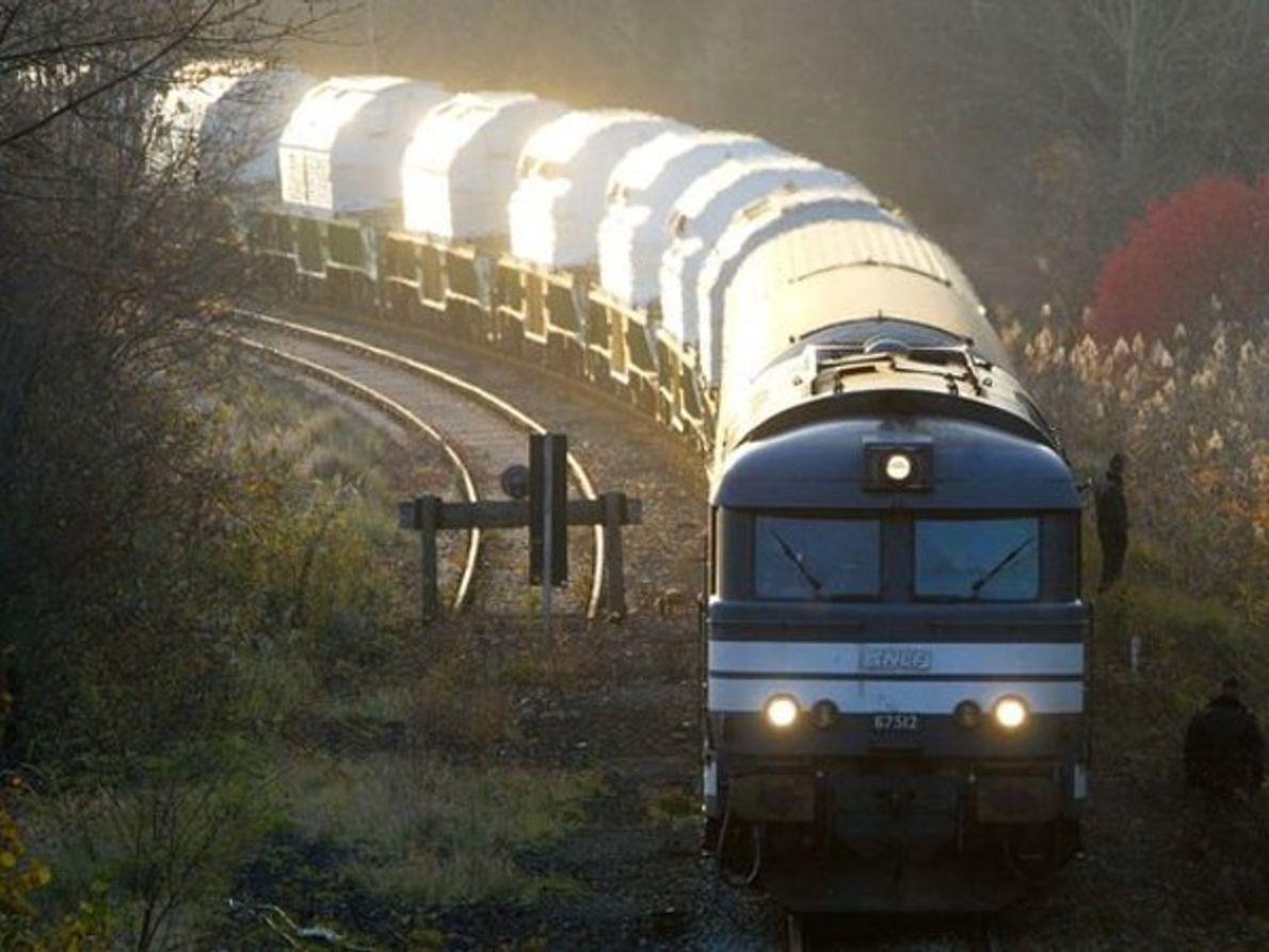 Un tren de CASTOR