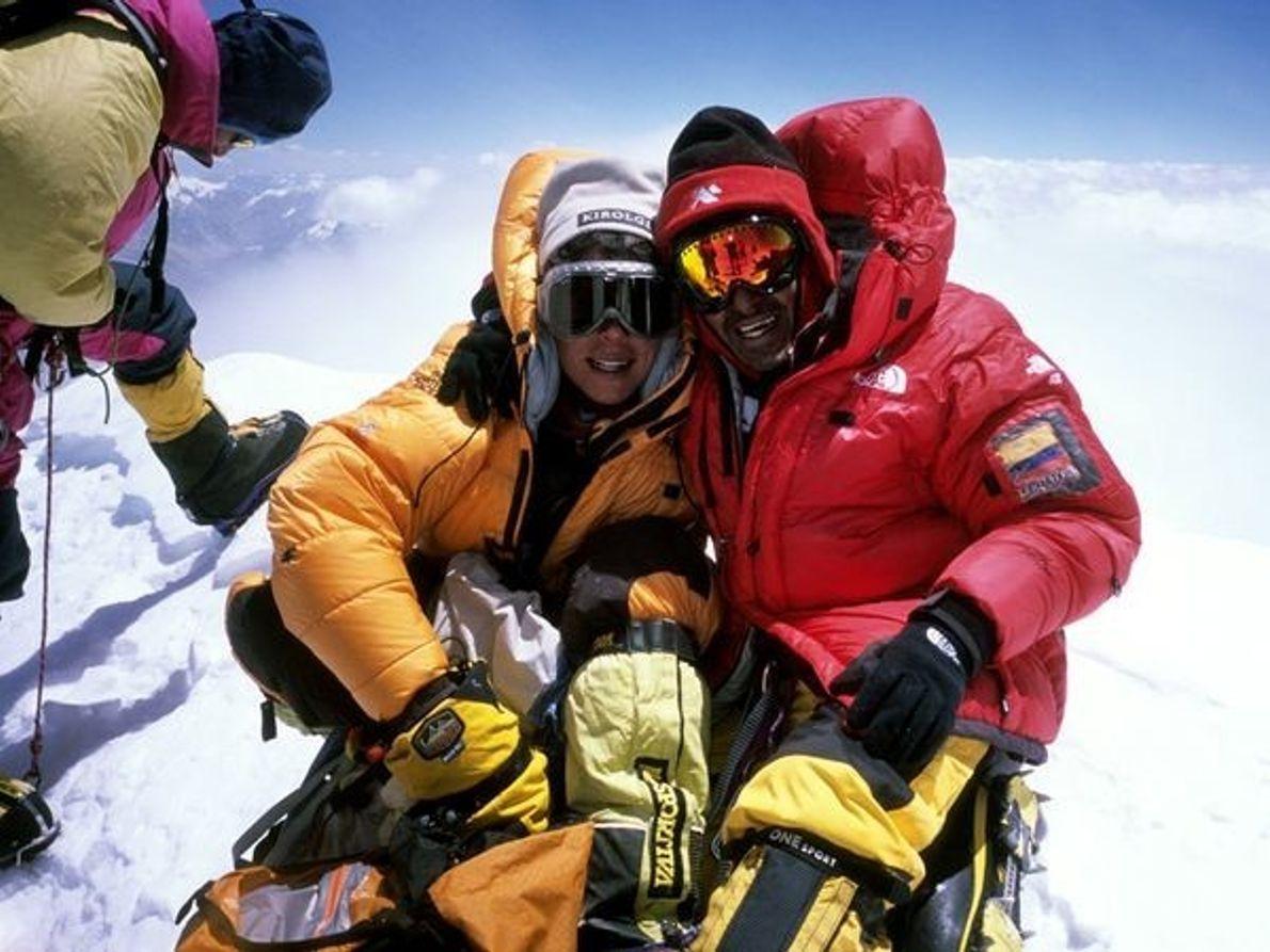 Gasherbrum II, Pakistán y China