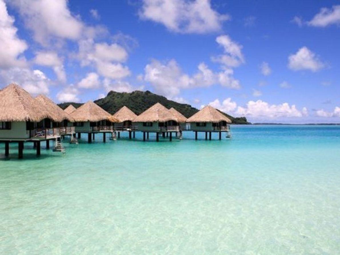 Las islas paradisíacas del Pacífico