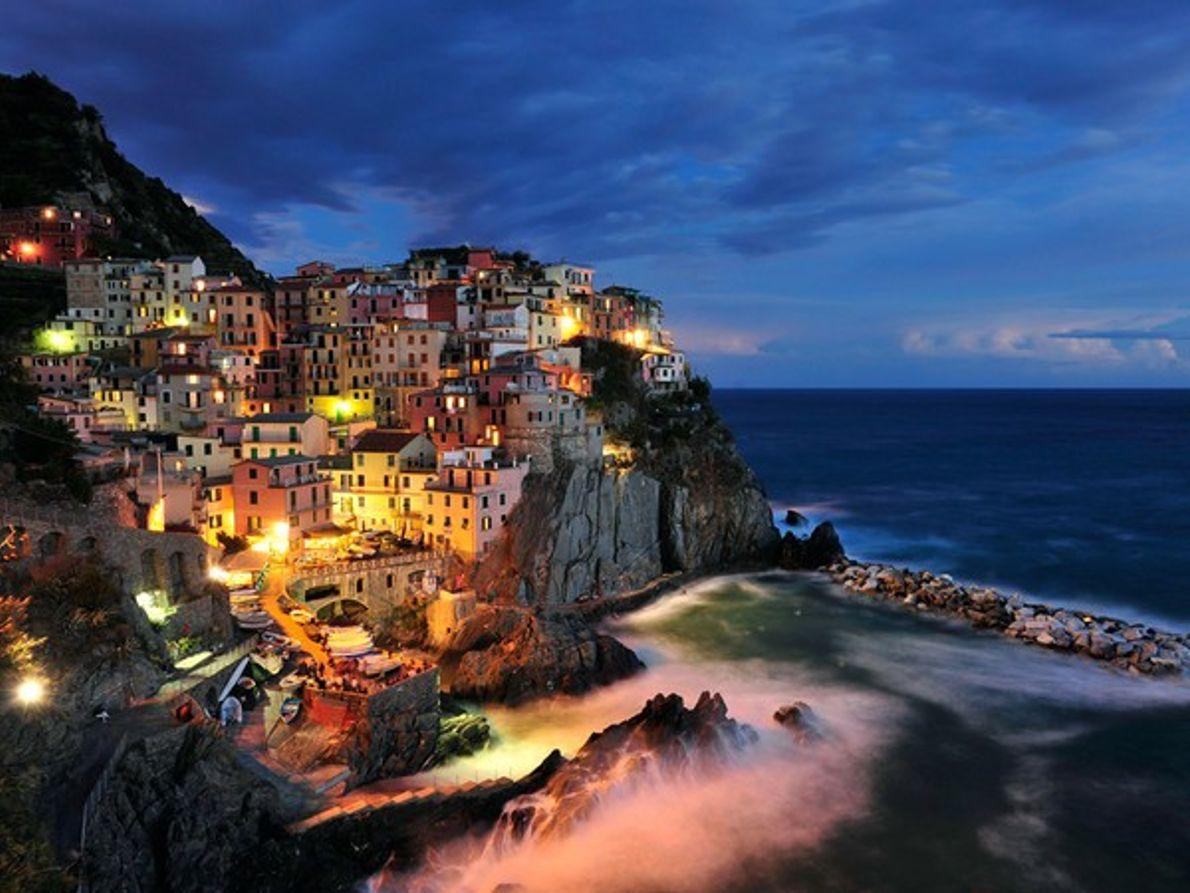 Pueblo costero italiano