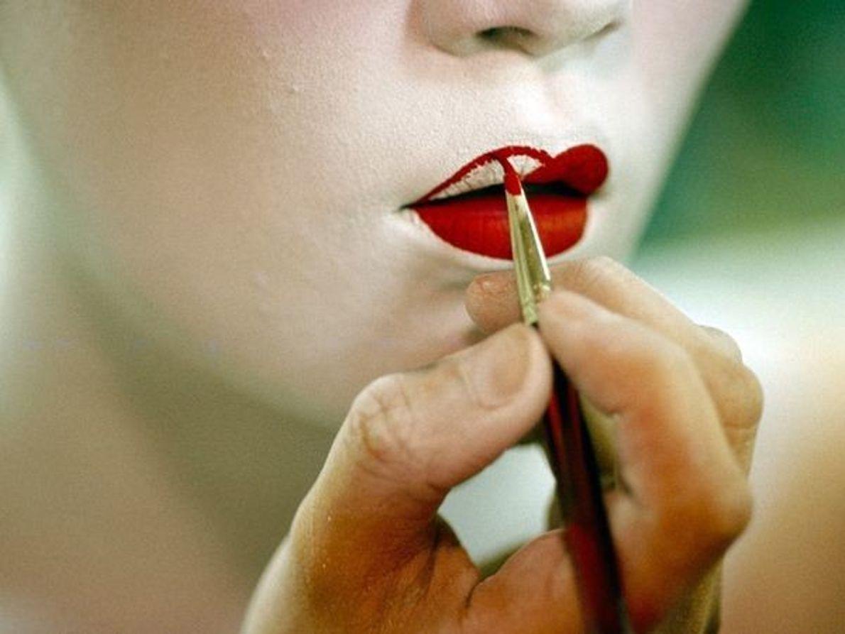 Labios de geisha