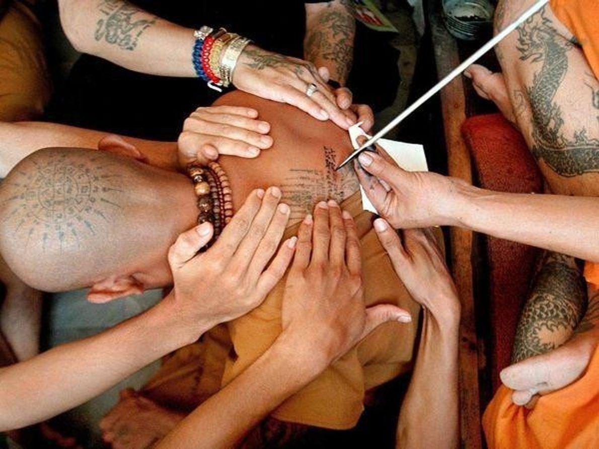 Monje budista, Tailandia
