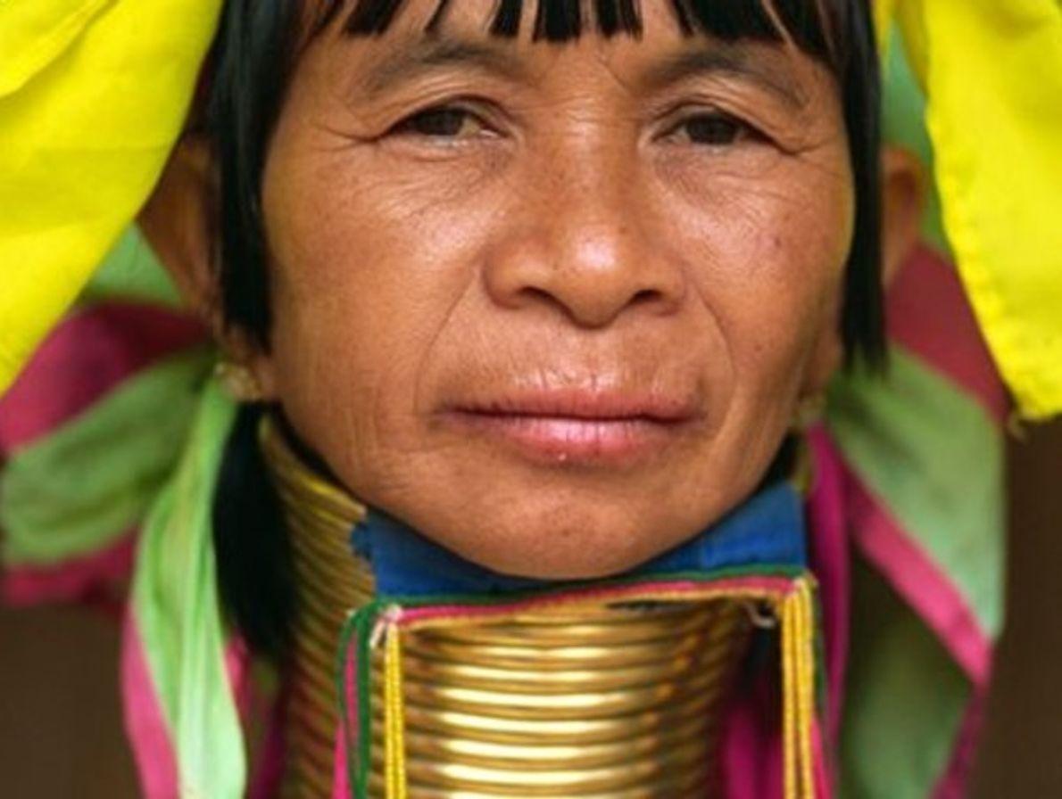 Mujer Padaung, Tailandia