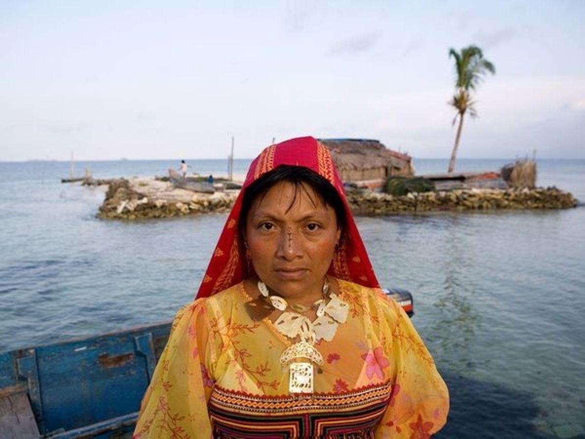 Mujer  Kuna, Panamá