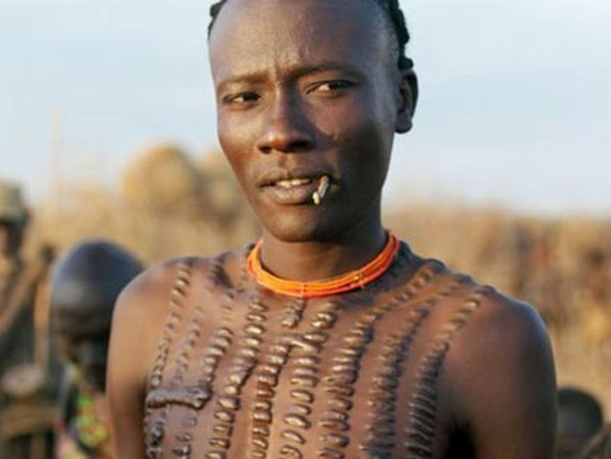 Hombre dassanech, Etiopía