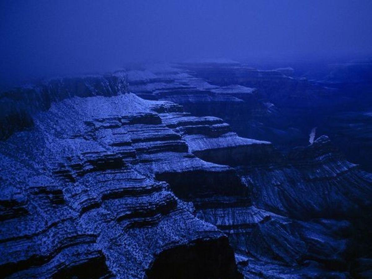 Gran Cañón nevado