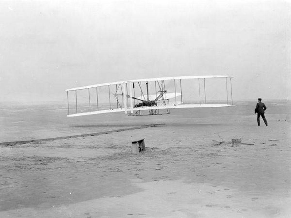 Vuelo de los hermanos Wright, 1903