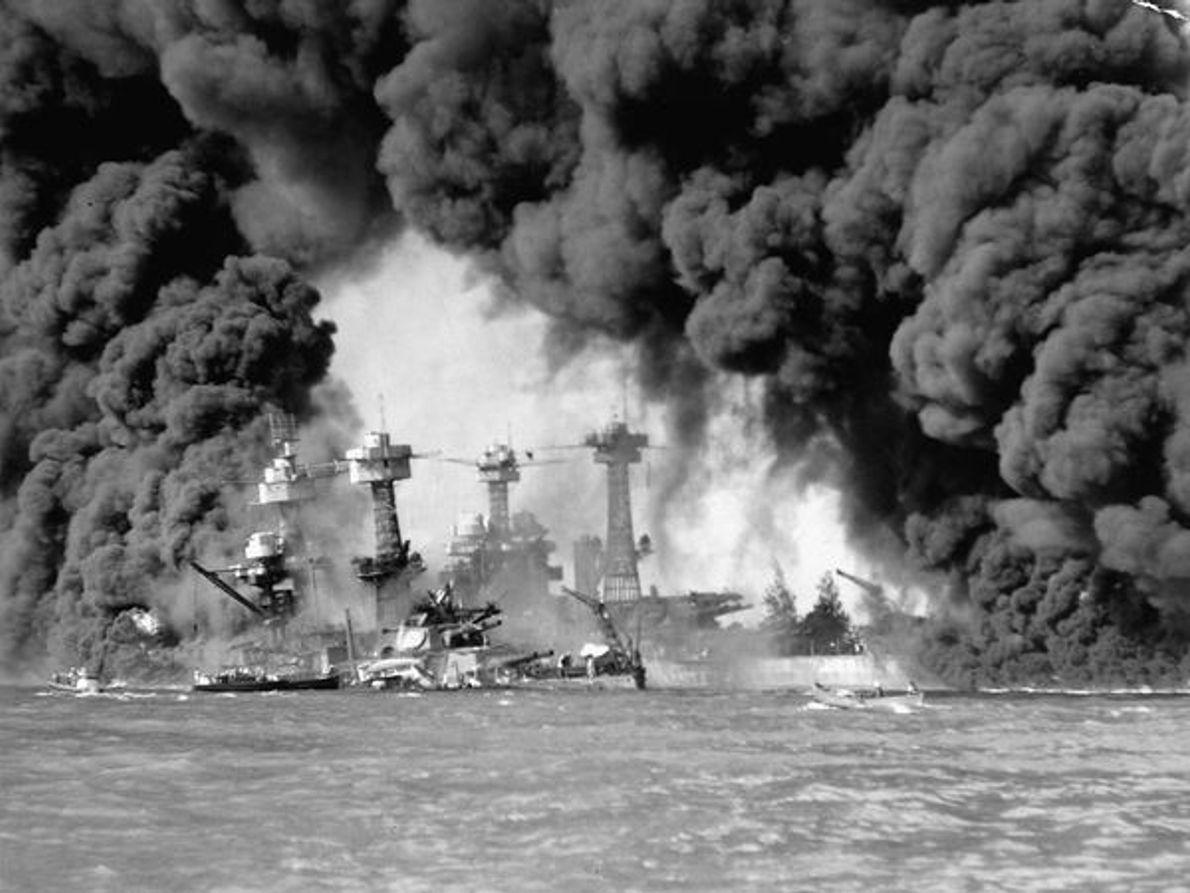 El ataque de Pearl Harbor, 1941