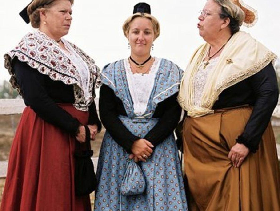 Vestido tradicional de Provenza