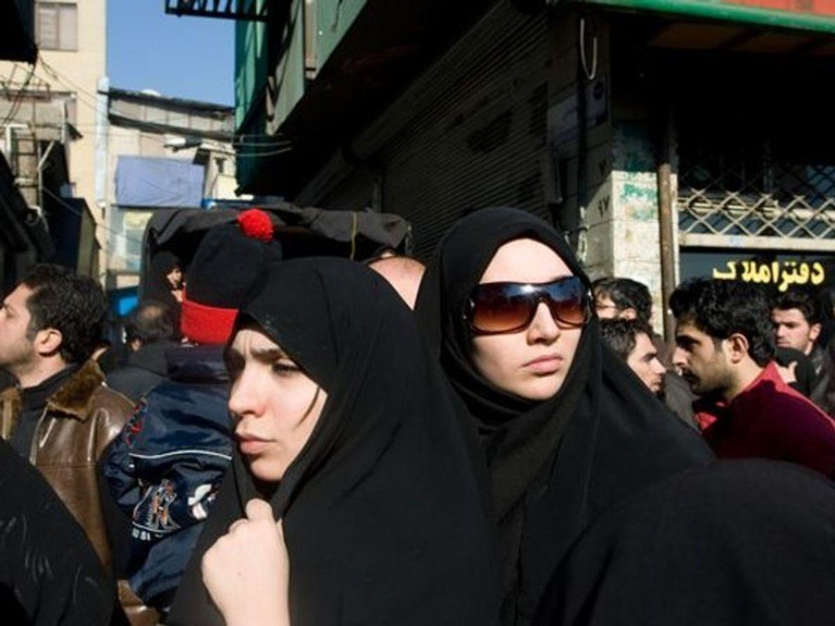 Mujeres musulmanas, Irán