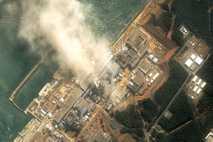 La central de  Fukushima, Japón
