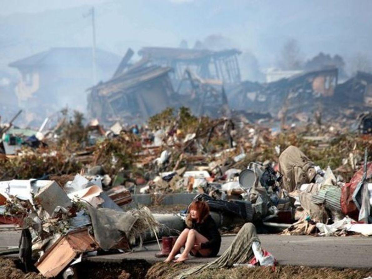 Dolor tras la catástrofe