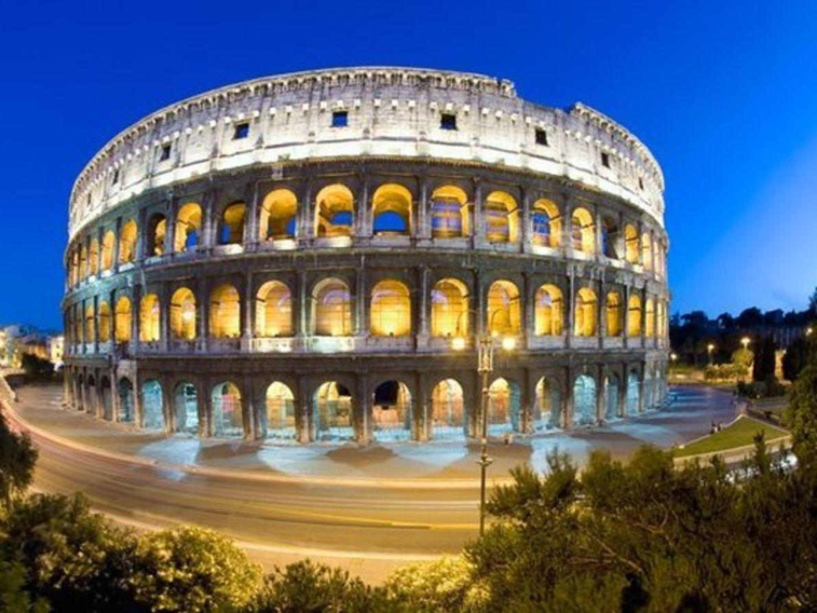 El Coliseo, Roma.