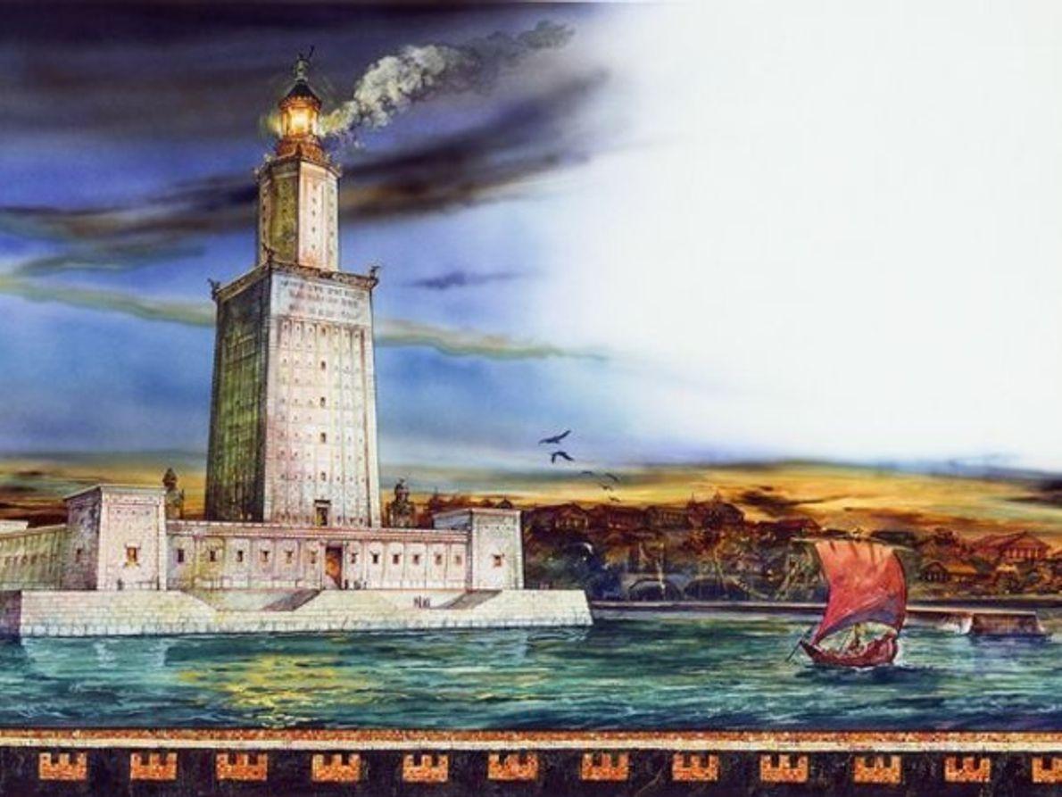 Las 7 maravillas del mundo moderno vs las 7 del mundo antiguo: Faro de Alejnadría