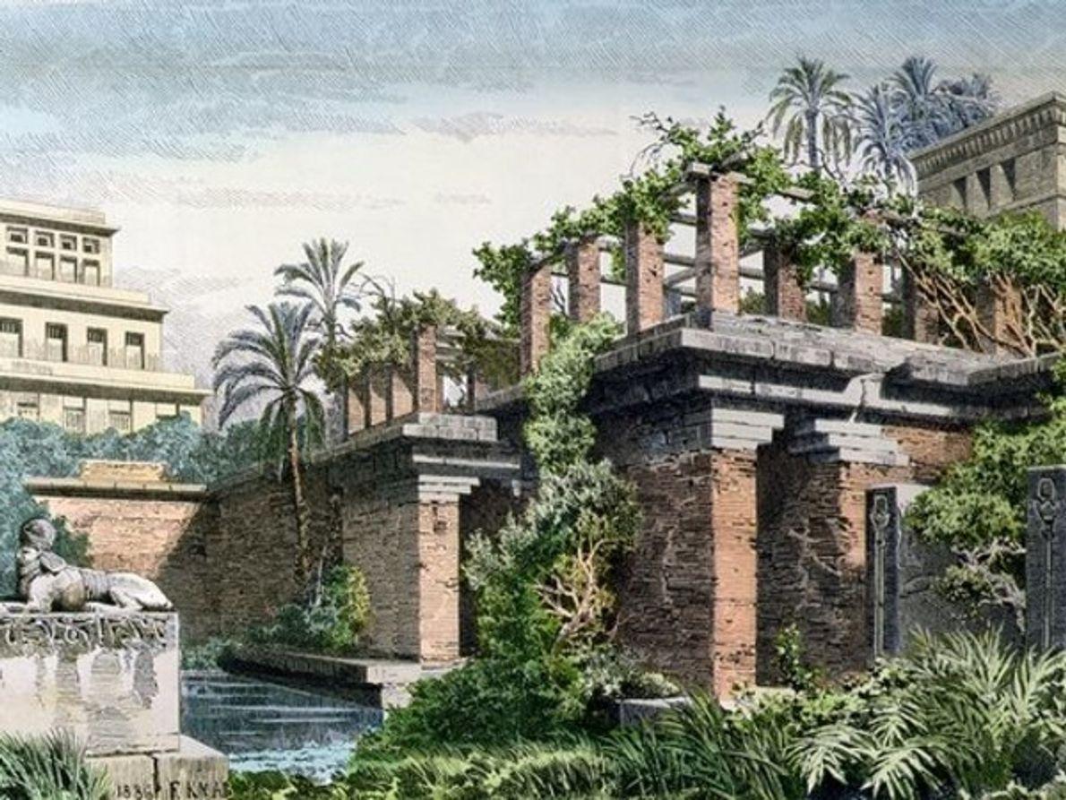 Jardines colgantes de Babilonia, Irak