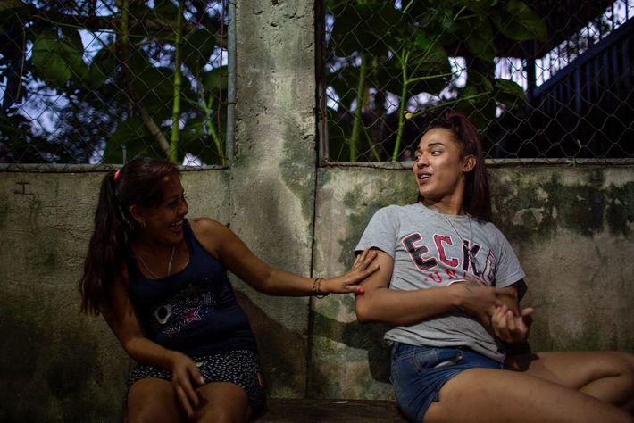 Alexa con Maria Fidelina Cañados Claros
