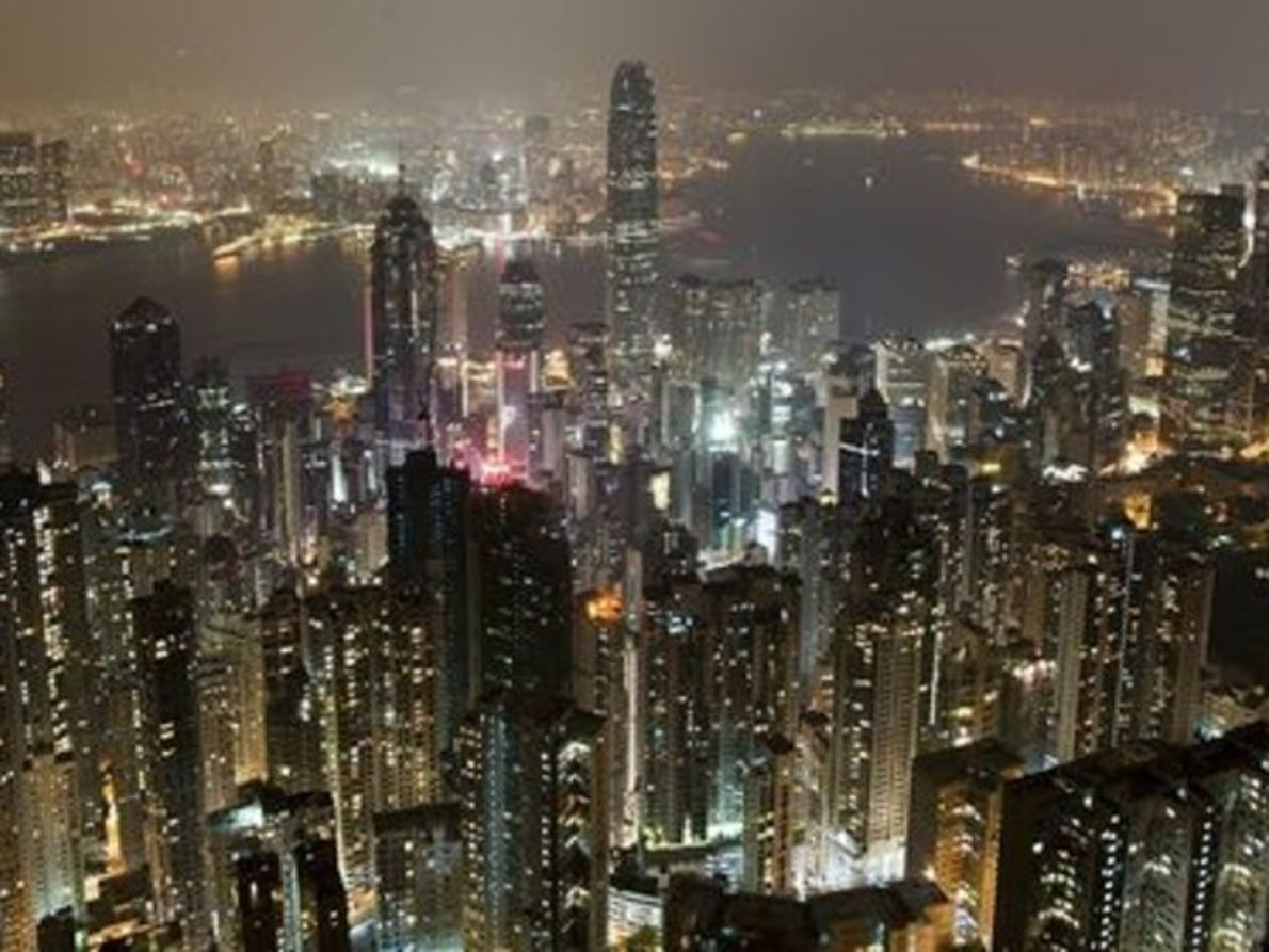 Hong Kong durante la Hora del planeta