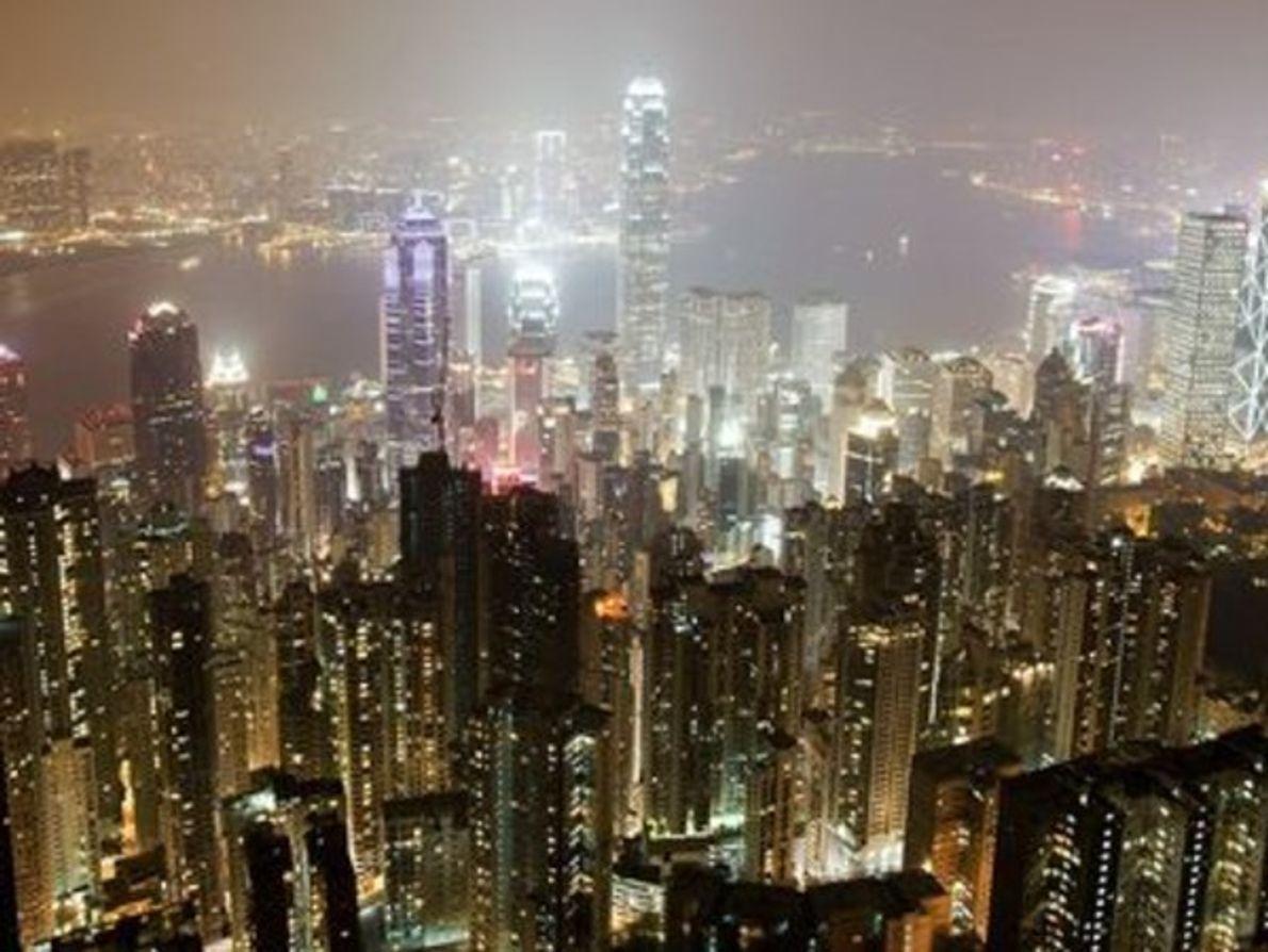 Ciudades durante la Hora del Planeta