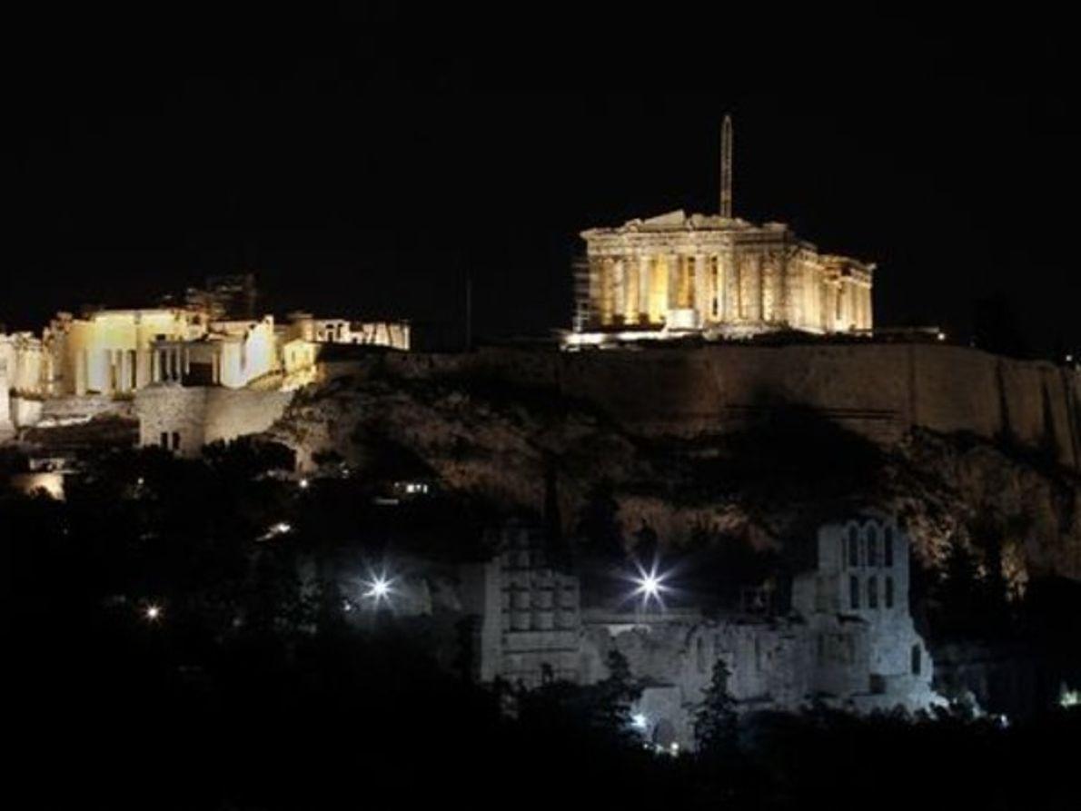 Atenas después de la Hora del Planeta