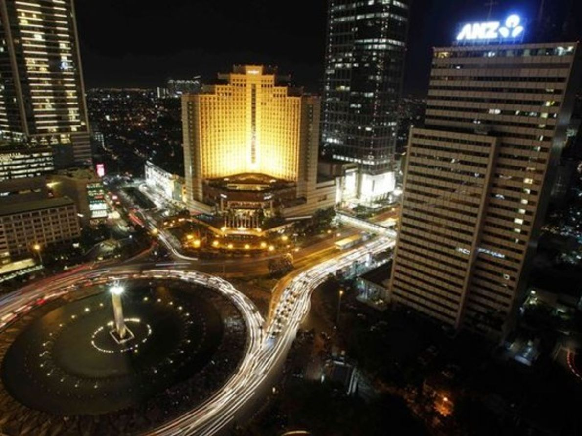 Yakarta, Indonesia antes de La Hora del Planeta