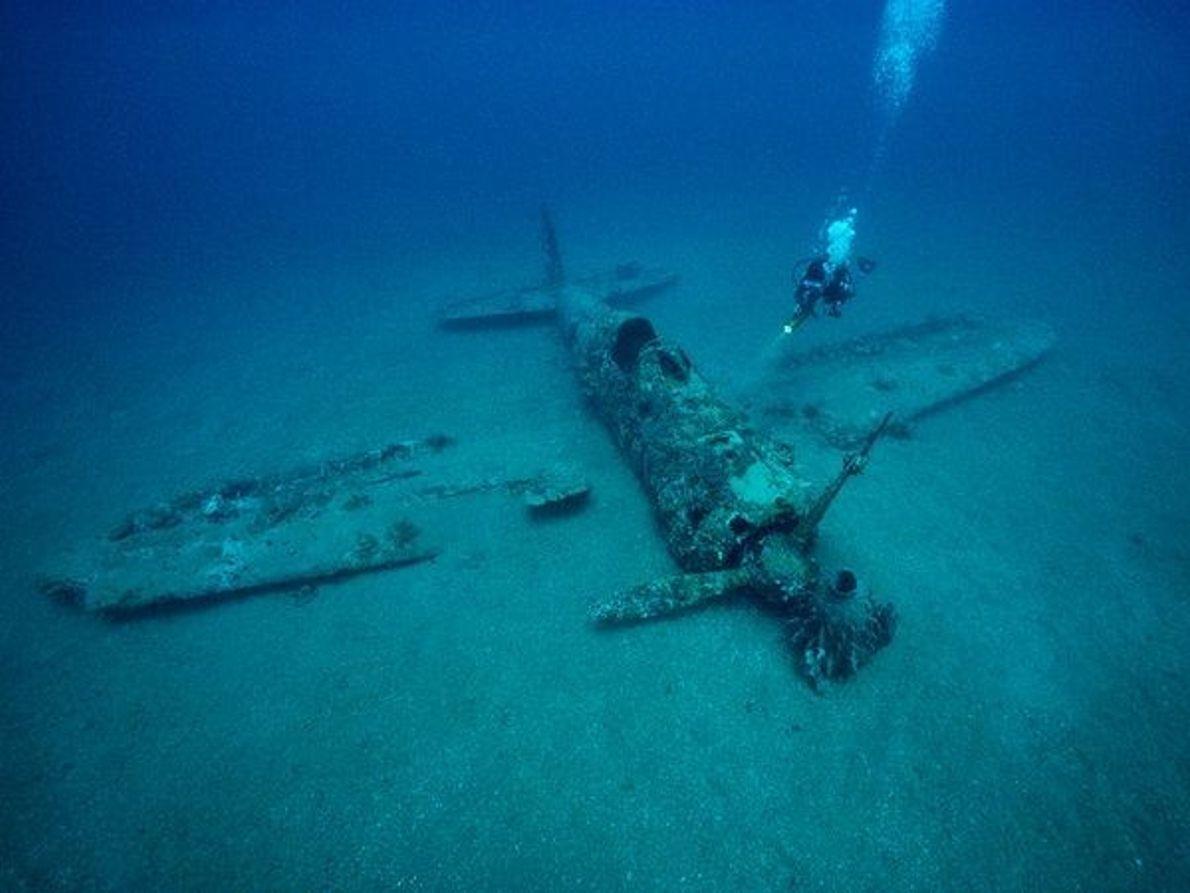 Restos en las profundidades marinas