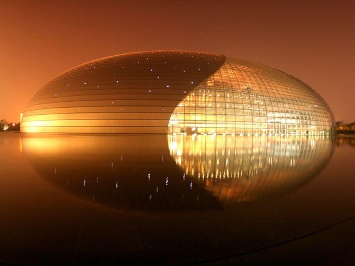 Edificio con forma de orbe