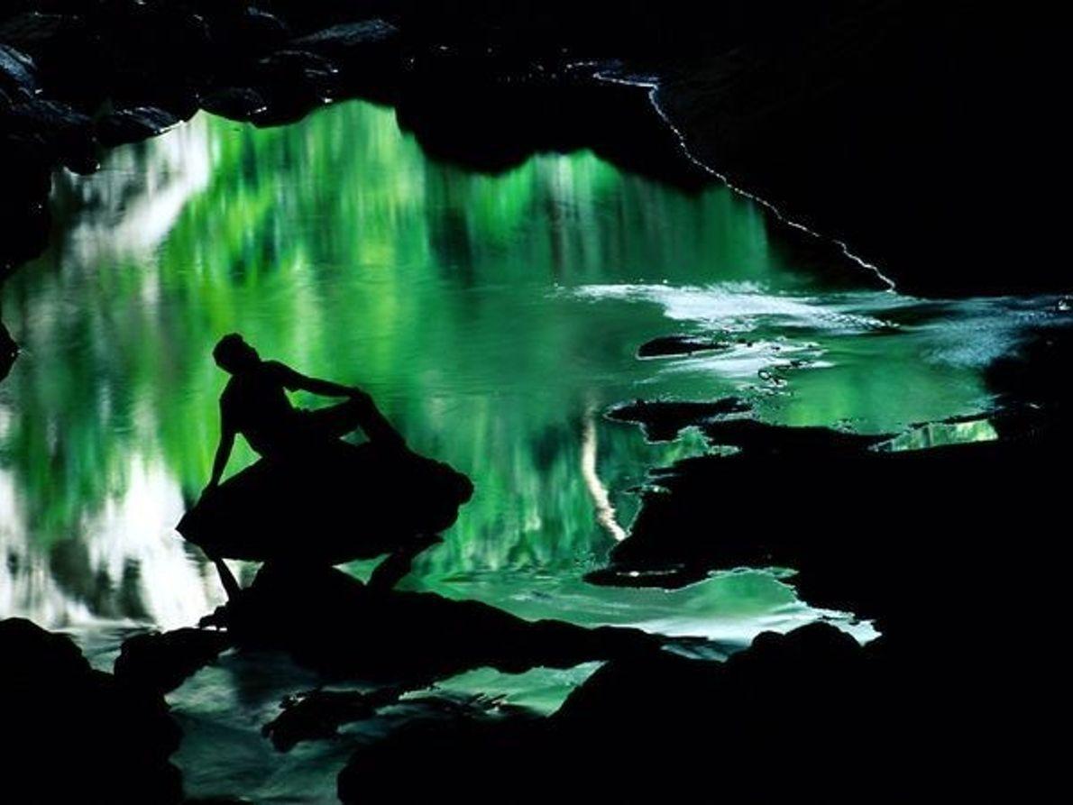 El mundo de color verde