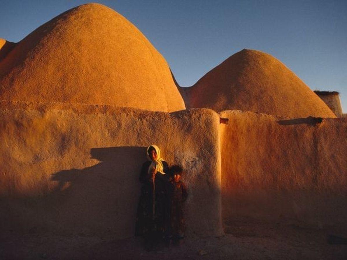 Cabañas-colmena (Siria)