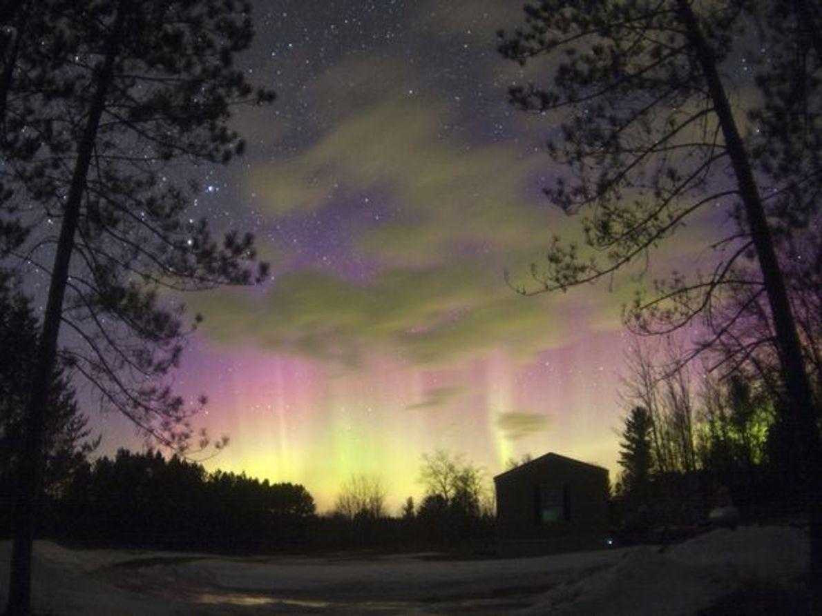 Aurora en Wisconsin